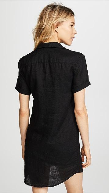 James Perse Side Panel Shirtdress