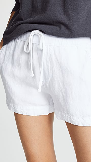 James Perse Pull On Easy Shorts