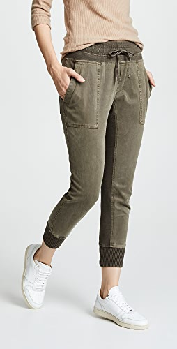 James Perse - 混合材质长裤