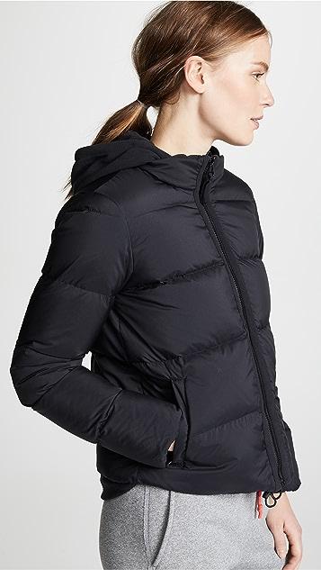 James Perse Fleece Lined Puffer Jacket