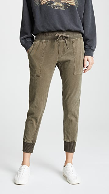 068e87b9635dfd James Perse Contrast Sweatpants | SHOPBOP
