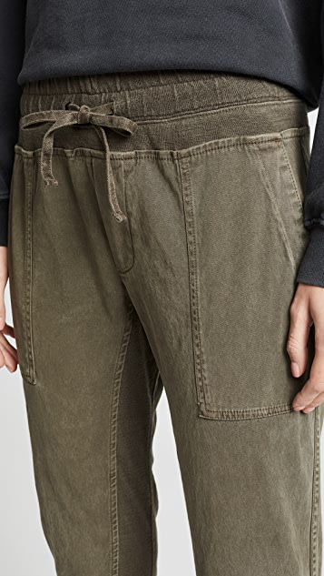 James Perse Contrast Sweatpants