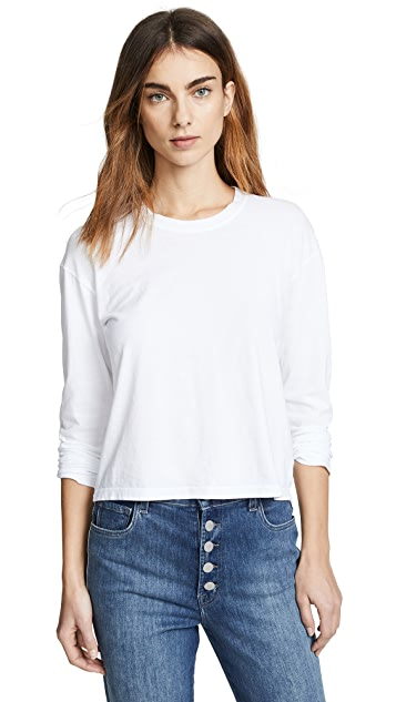 James Perse Vintage Boxy Long Sleeve Tee