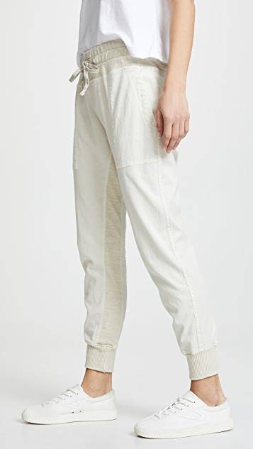 James Perse Contrast Sweatpants