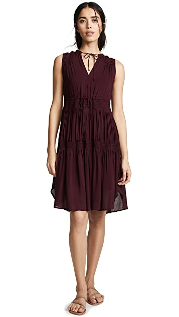 James Perse Short Pleated Sundress