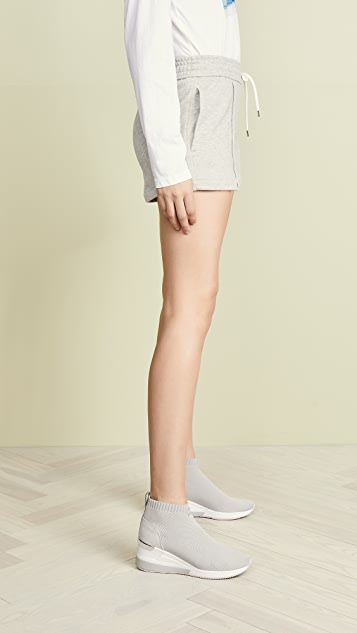 James Perse Pull On Gym Shorts