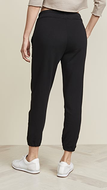 James Perse Fleece Pull On Sweatpants