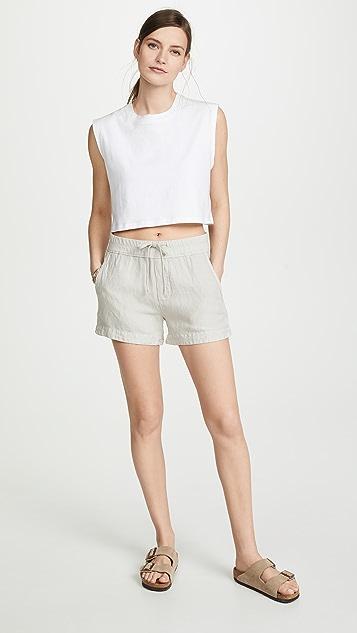James Perse Easy Linen Shorts