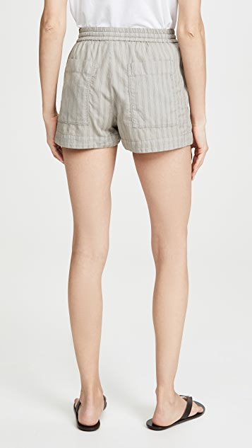James Perse Pull On Shorts