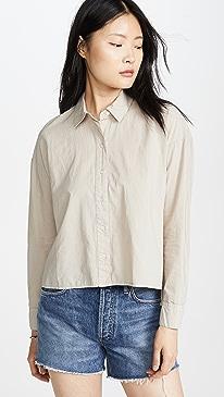 Cotton Lawn Boxy Shirt
