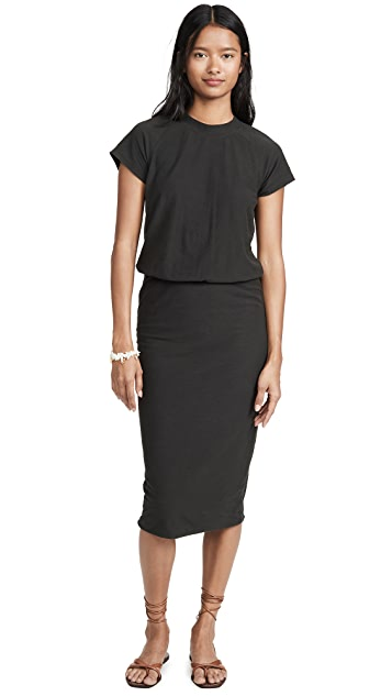 James Perse Blouson Raglan Surf Dress