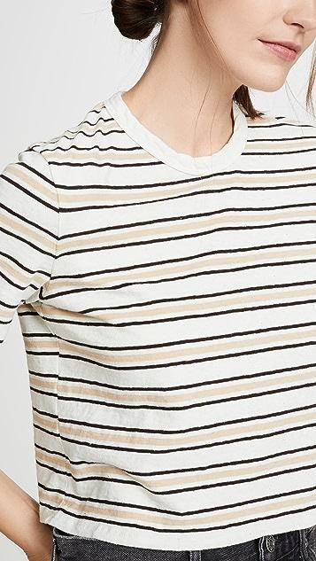 James Perse 超短设计 T 恤