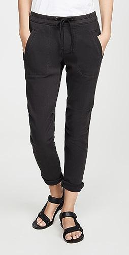 James Perse - 超柔软斜纹织物长裤
