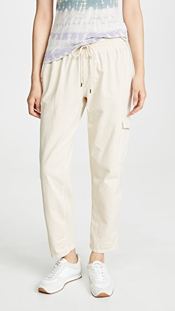 James Perse Комбинированные брюки