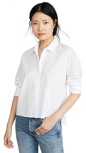 James Perse Свободная рубашка