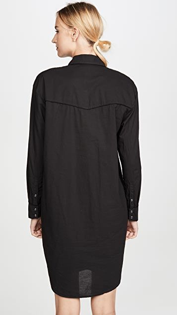 James Perse Embroidered Western Dress