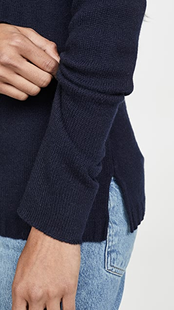 James Perse Crew Neck Cashmere Sweater