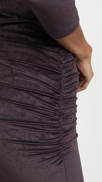 James Perse 合身低背连衣裙