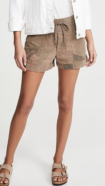 James Perse Camo Cargo Shorts