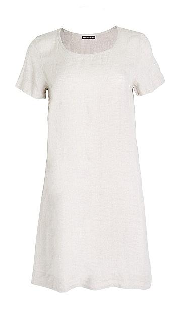 James Perse 背面裥褶直筒连衣裙