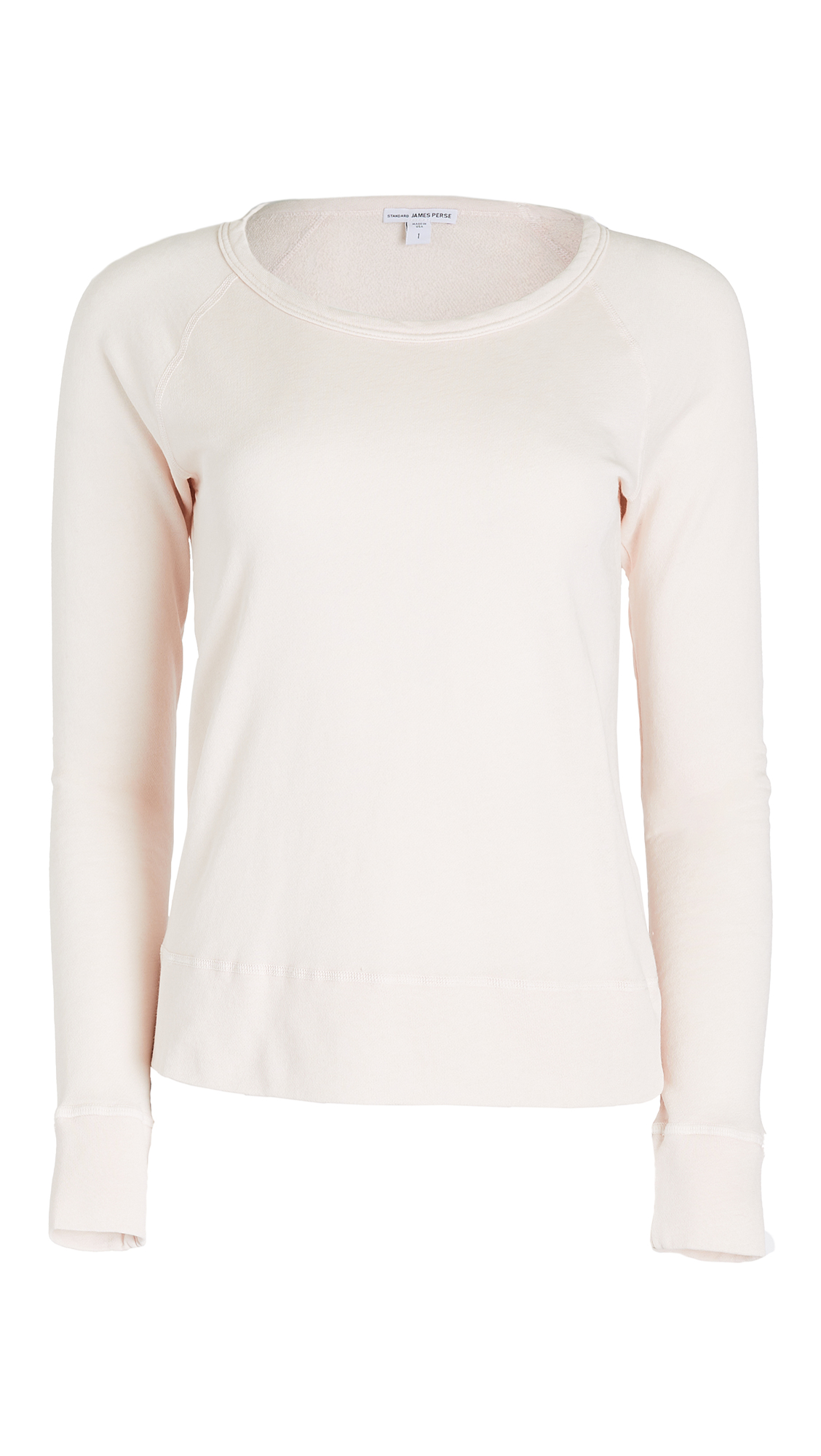 James Perse Classic Raglan Pullover