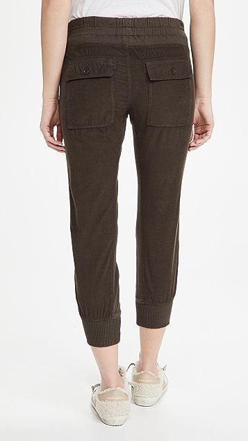 James Perse 灯芯绒混合材质裤子
