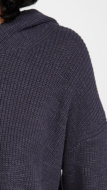 James Perse Cotton Linen Hoodie