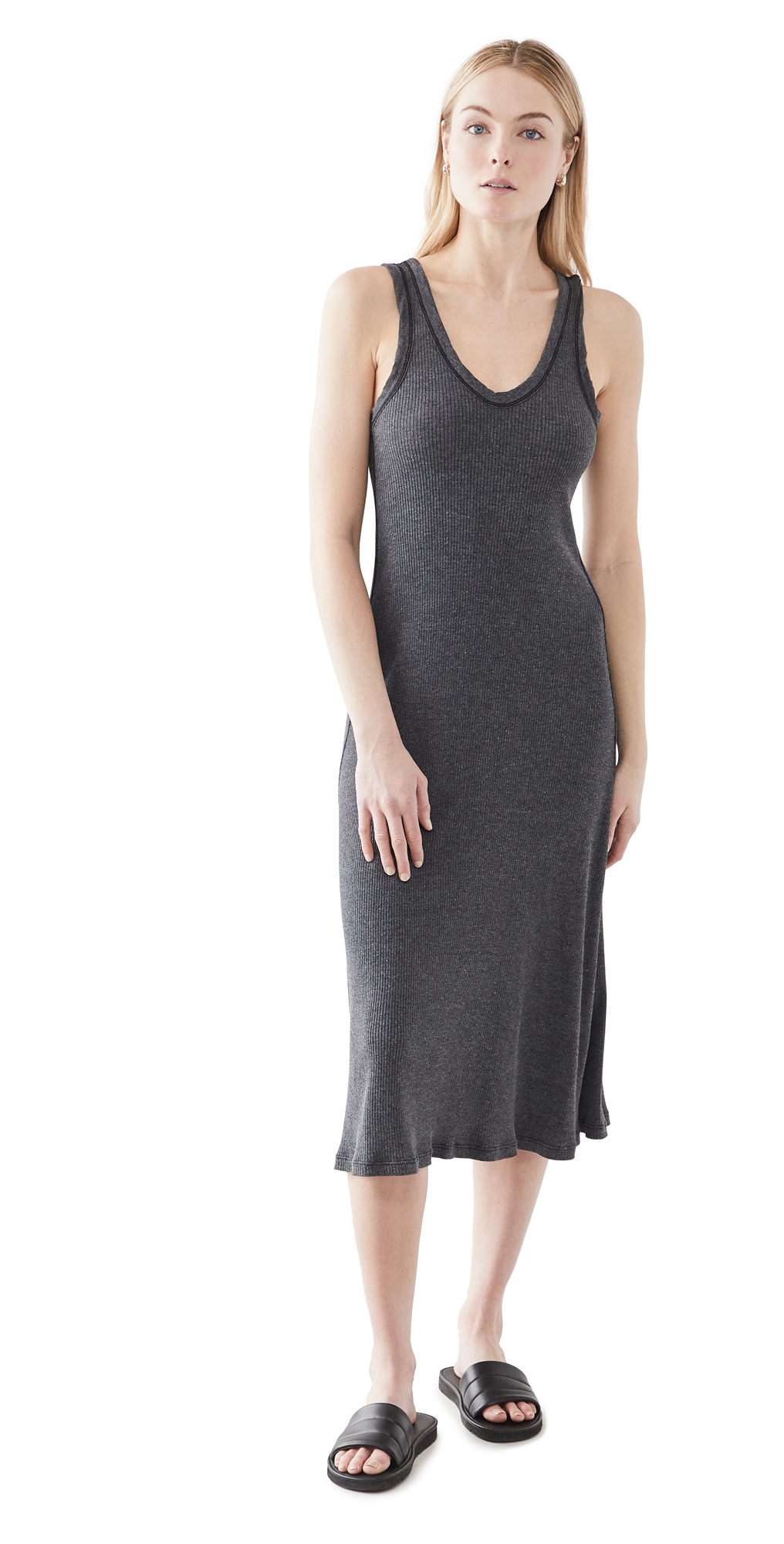 James Perse Ribbed Cami Dress
