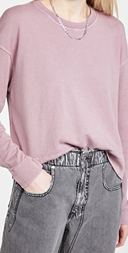 James Perse - Relaxed Cropped Pullover