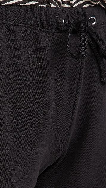 James Perse 绒布运动短裤