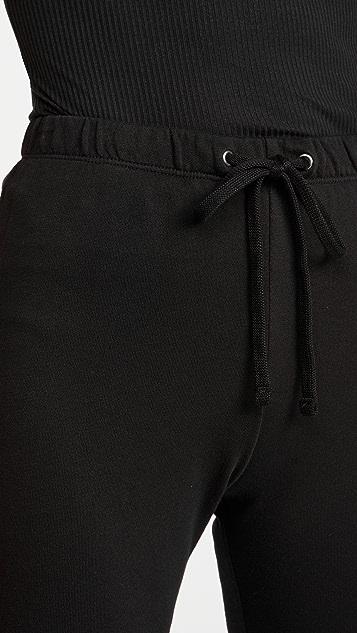 James Perse 法式毛圈运动裤
