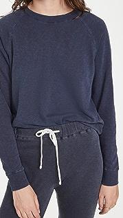 James Perse 法式毛圈布连肩运动衫