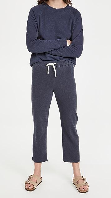 James Perse 法式毛圈布休闲运动裤