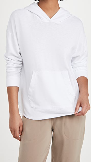James Perse French Terry Hooded Sweatshirt