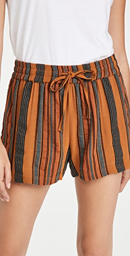 James Perse - Vintage Striped Shorts