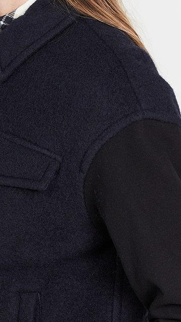 James Perse Wool Pocket Jacket