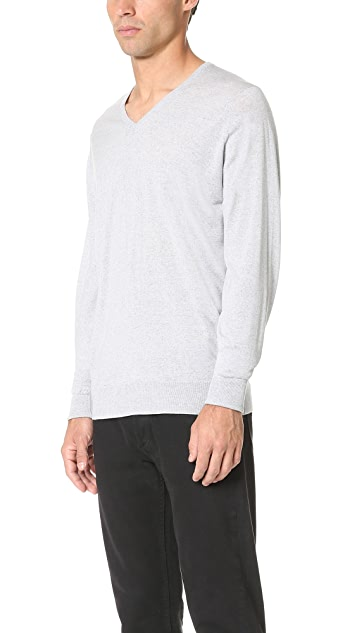 John Smedley Bobby V Neck Merino Sweater