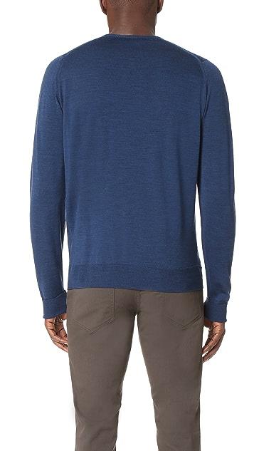 John Smedley Marcus Crew Neck Merino Sweater