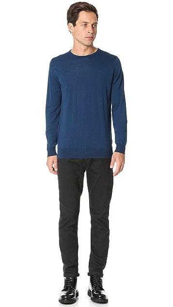 John Smedley Hatfield Sea Island Cotton Crew Sweater