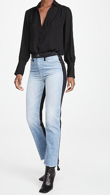 Jonathan Simkhai STANDARD Eliot High Rise Jeans