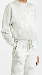 Jonathan Simkhai STANDARD 扎染短款运动衫