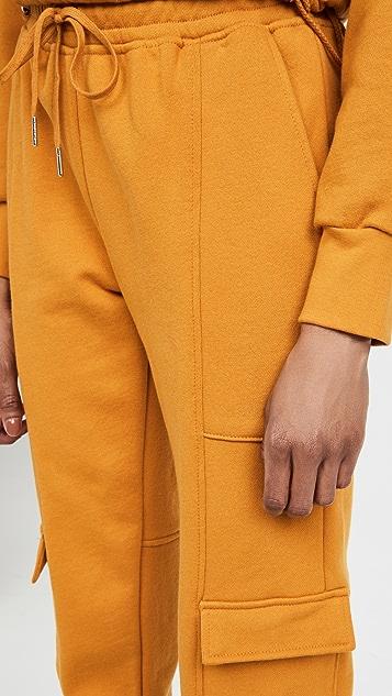 Jonathan Simkhai STANDARD Azalea 毛圈布运动衫工装运动裤
