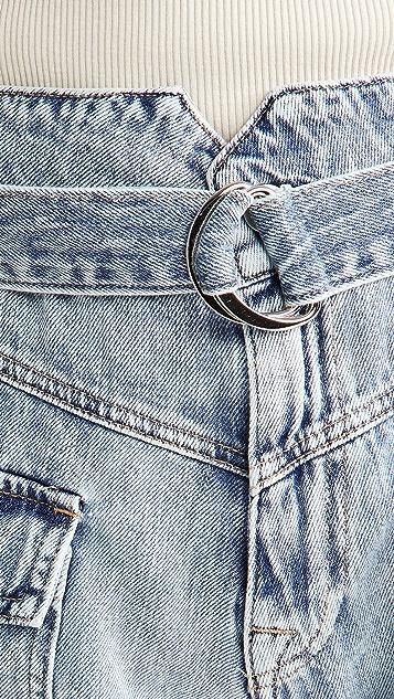 Jonathan Simkhai STANDARD Sierra 实穿牛仔布短裤