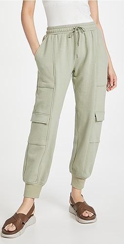 Jonathan Simkhai STANDARD - Azalea Organic Terry Cargo Sweatpants