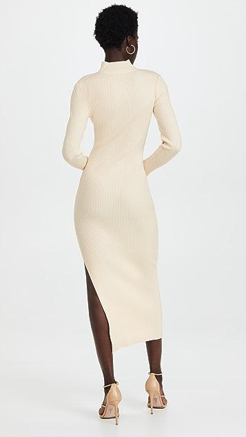 Jonathan Simkhai STANDARD Kenny Square Neck Dress