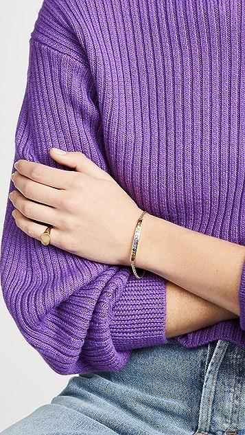 Jane Taylor 14k Square ID Bracelet