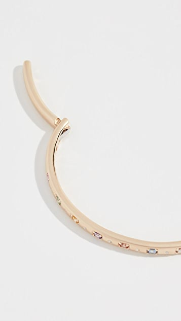 Jane Taylor 14K 复古活力方形铰链手镯