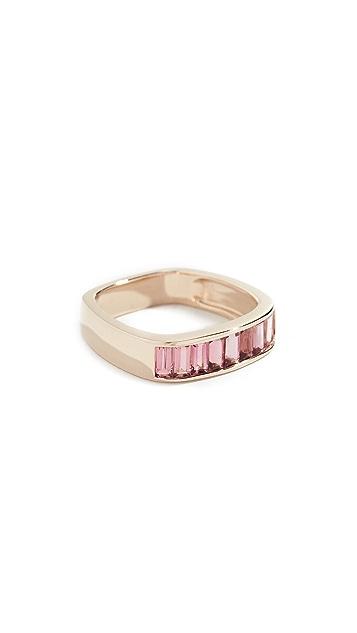 Jane Taylor 14k  Square Band Ring