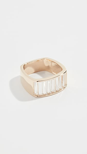 Jane Taylor 14K Square Band Ring
