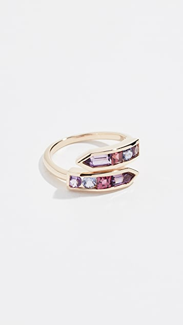 Jane Taylor 14k Bypass Arrow Ring